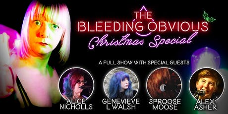 The Bleeding Obvious Christmas Party tickets