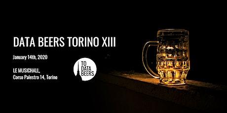 Data Beers Torino - Episode 13 biglietti