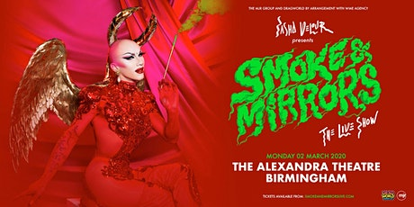 Sasha Velour - Smoke & Mirrors Tour (New Alexandra, Birmingham) tickets