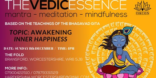 Vedic essence- awakening inner happiness
