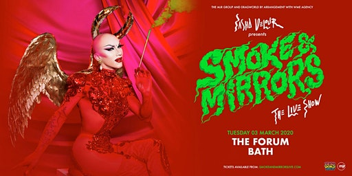 Sasha Velour - Smoke & Mirrors Tour (Forum, Bath)