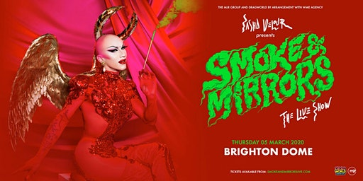 Sasha Velour - Smoke & Mirrors Tour (Dome, Brighton)