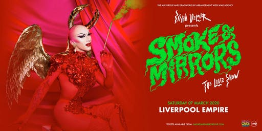 Sasha Velour - Smoke & Mirrors Tour (Empire, Liverpool)