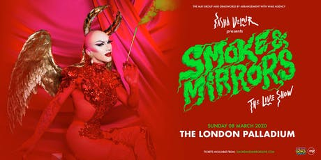 Sasha Velour - Smoke & Mirrors Tour (The London Palladium) tickets