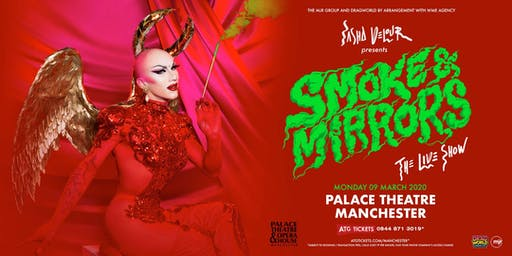 Sasha Velour - Smoke & Mirrors Tour (Palace Theatre, Manchester)
