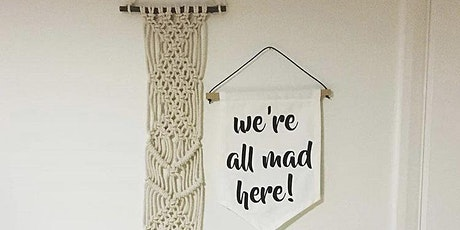 Macrame Wall Hanging Workshop tickets
