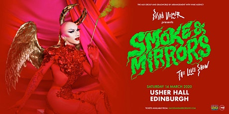 Sasha Velour - Smoke & Mirrors Tour (Usher Hall, Edinburgh) tickets
