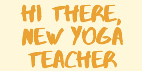 New Yoga Teacher Meetup