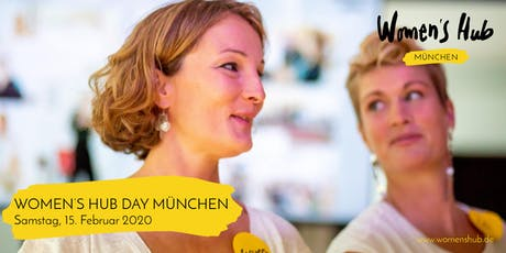 WOMEN'S HUB DAY MÜNCHEN 15. Februar 2020 Tickets