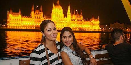 10 € Danube night cruise with welcome drink tickets