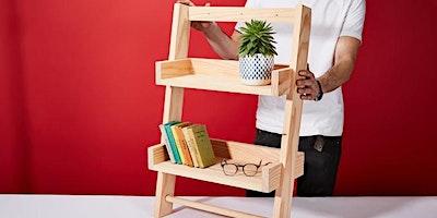 Hanging Ladder Shelf