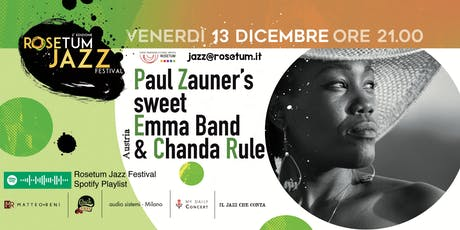 Paul Zauner's sweet Emma Band, Chanda Rule - RJF #2 biglietti