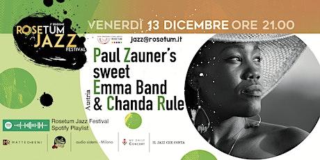 Paul Zauner's sweet Emma Band, Chanda Rule - RJF #2 biglietti