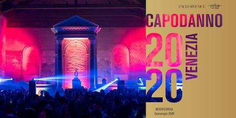 CAPODANNO 2020 VENEZIA • Cenone a Palazzo e Party alla Misericordia biglietti