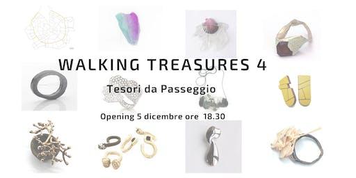 Mostra sul Gioiello Contemporaneo: WALKING TREASURES 4. Tesori da Passeggio