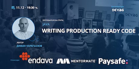 Java: Writing production ready code tickets