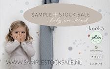 Sample + Stock Sale baby en kind logo