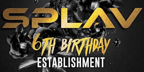 SPLAV 6th BDAY @ ESTABLISHMENT 24th Dec tickets