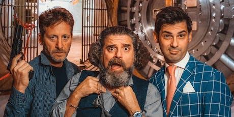 Claustrofobia - Black Comedy Bancaria biglietti