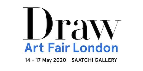 Draw Art Fair London 2020 tickets