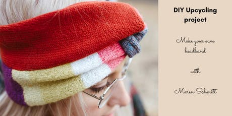 DIY Upcycling project: Make your own headband tickets