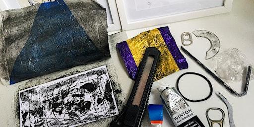 MAKE YOUR MARK EXTRA : DIY Monoprinting with Trash, 30th Jan