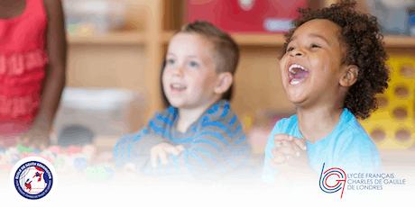 Portes ouvertes/Open Day 2020 - école primaire/Primary School South Kensington tickets