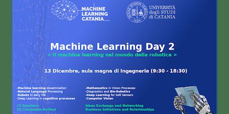 Machine Learning Day 2 - Il machine learning nel mondo della robotica biglietti