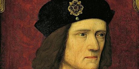 Trial of Richard III (Tamworth LitFest 2020 event) tickets