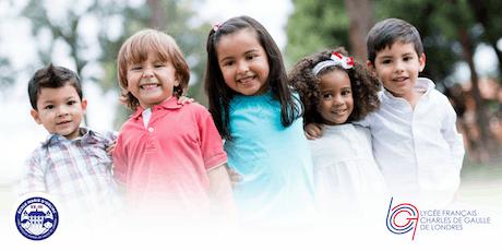 Portes ouvertes/Open Day 2020 - école primaire/Primary School Marie d'Orliac tickets