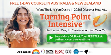 Turning Point Intensive in Sydney (weekend) - The fastest way to create your best year yet (Free Ticket) tickets
