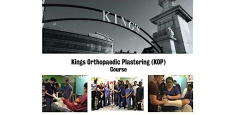 King's College Plastering Course 2020 billets