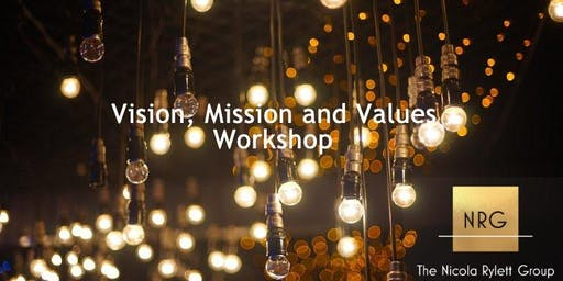 Vision Mission and Values Workshop
