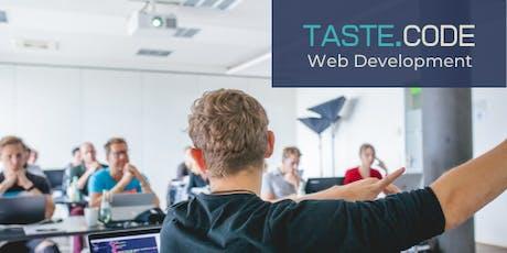 TASTE CODE - Web Development bilhetes