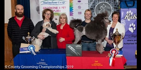 County Dog Grooming Championships 2019 tickets