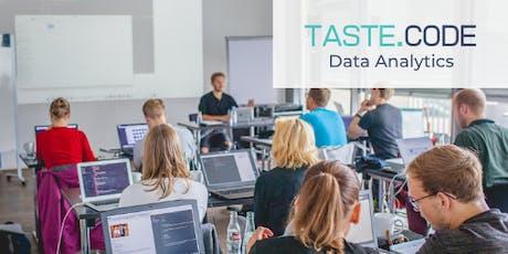 TASTE CODE - Data Analytics Tickets