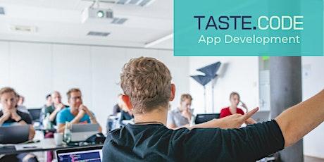 TASTE CODE - App Development Tickets