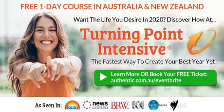 Turning Point Intensive in Melbourne (weekend) - The fastest way to create your best year yet (Free Ticket) tickets