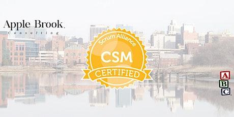 Certified ScrumMaster® (CSM) - Wilmington - January 18-19 tickets