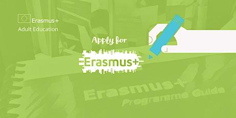 Erasmus+ KA1 Adult Education Application Workshop, Dublin (Feb 2020 Deadline) tickets