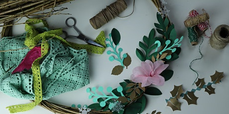 Willow and Paper Christmas Wreath Workshop (13th Dec) tickets