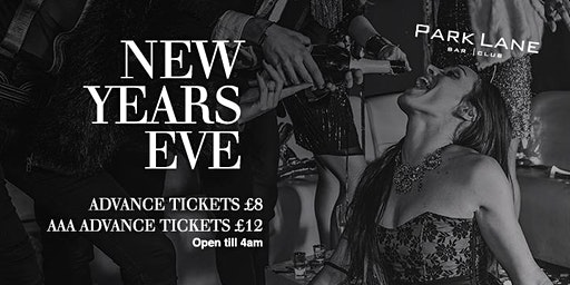 New Years Eve at Park Lane Torquay