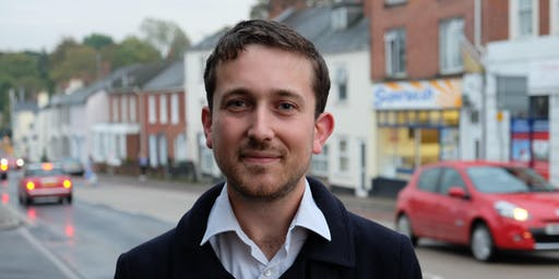 Elect Joe Levy as Green MP - Action Day in Exeter