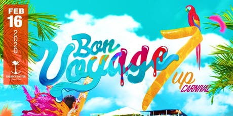 BON VOYAGE 7UP Carnival Cooler Cruise tickets