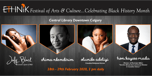 Ethnik Festival of Arts and Culture...Celebrating Black History Month