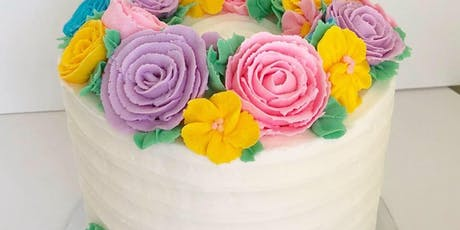 Cake Decorating: Easter Wreath Cake at Fran's Cake and Candy Supplies tickets