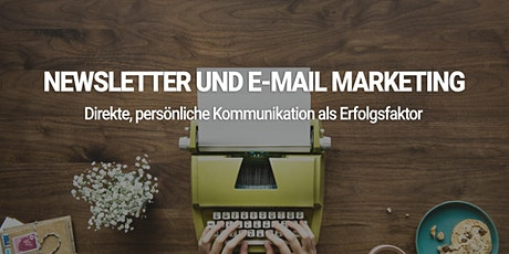 Newsletter und E-Mail Marketing Seminar Tickets