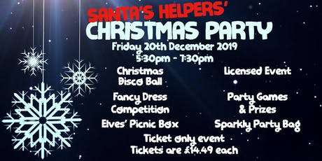 Santa's Helpers' Christmas Party tickets