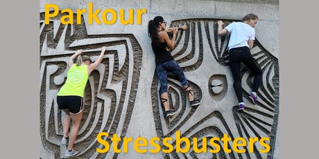 Parkour Stressbuster Session tickets
