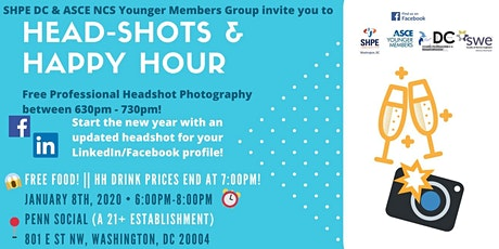 Headshots & Happy Hour tickets